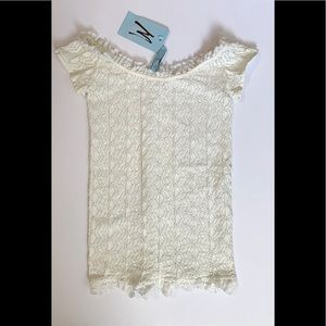 Marciano seamless lace top